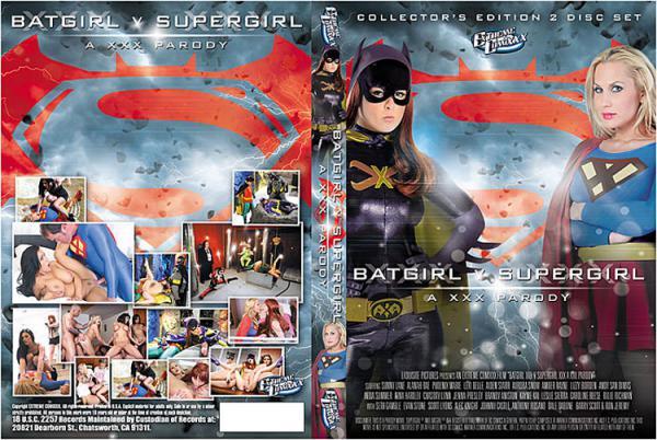 バットガールVスーパーガール:アXXXパロディー(2 DVDセット)
