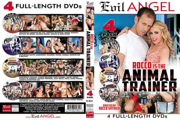 ロッコイズザアニマルトレーナー(4 DVDセット)