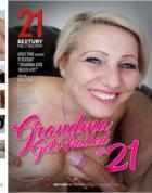 おばあちゃんは釘付け21を取得します