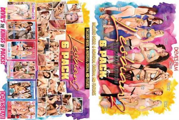 レズビアン 6 パック Vol.2 (6枚組)