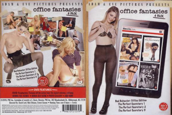 オフィスファンタジー4パック(4 DVDセット)