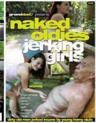 裸のじいちゃんを手コキする娘たち
