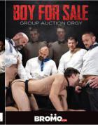 販売のための少年:グループオークション乱交