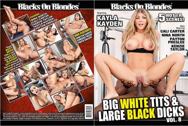 巨白おっぱい&大黒ディックス8