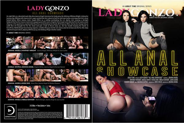 Lady Gonzo:All Anal Showcase