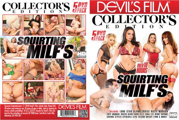 MILFs コレクターズエディション (5 DVD セット) を潮吹き