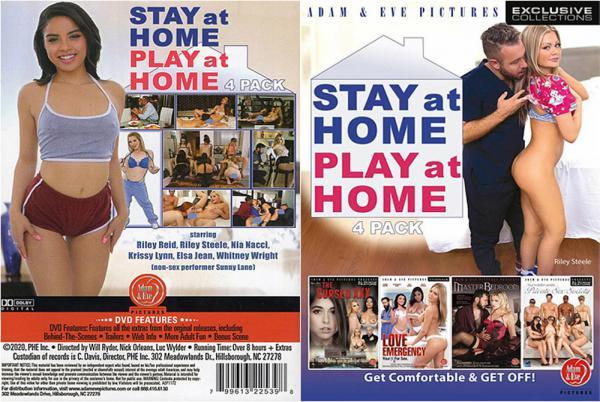 ステイ アット ホーム プレイ 4 パック (4 DVD セット)
