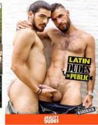公共の場でラテン語の男