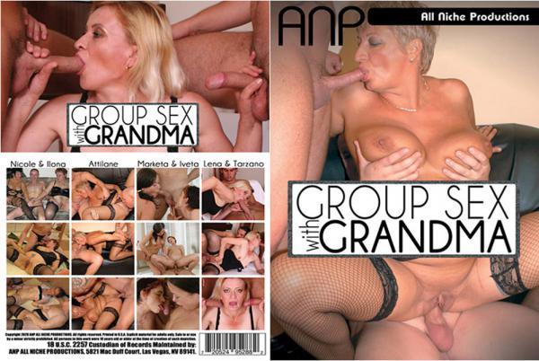 おばあちゃんとのグループセックス