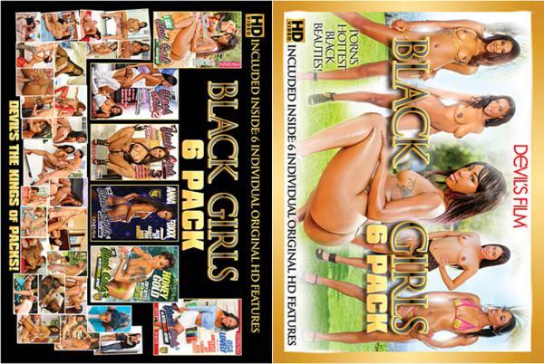 ブラックガールズ6パック(6枚セット)