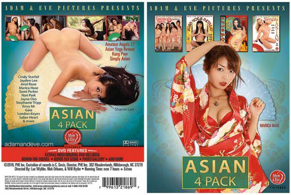 アジア 4 パック (4枚セット)