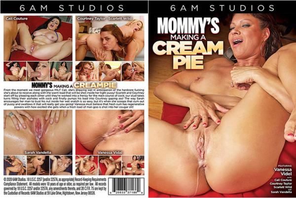 ママのクリームパイを作る